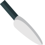 Kitchen Knife on EmojiOne 1.0