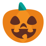 Jack-O-Lantern on EmojiOne 1.0