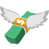 Money With Wings on EmojiOne 1.0