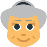 Old Woman on EmojiOne 1.0