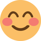 Smiling Face With Smiling Eyes on EmojiOne 1.0