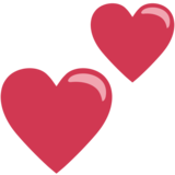 Two Hearts on EmojiOne 1.0