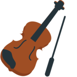 Violin on EmojiOne 1.0