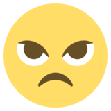 Angry Face on EmojiOne 2.2