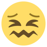 Confounded Face on EmojiOne 2.2