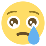 Crying Face on EmojiOne 2.2