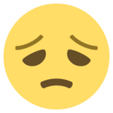 Disappointed Face on EmojiOne 2.2