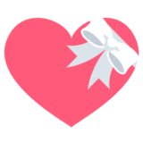Heart With Ribbon on EmojiOne 2.2