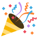 Party Popper on EmojiOne 2.2