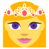 Princess on EmojiOne 2.2