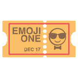 Ticket on EmojiOne 2.2