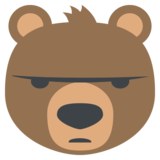 Bear Face on EmojiOne 2.2.4