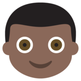Boy: Dark Skin Tone on EmojiOne 2.2.4