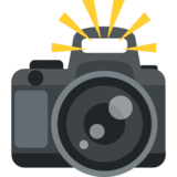 Camera With Flash on EmojiOne 2.2.4