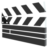 Clapper Board on EmojiOne 2.2.4