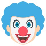 Clown Face on EmojiOne 2.2.4