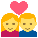 Couple With Heart on EmojiOne 2.2.4