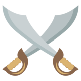 Crossed Swords on EmojiOne 2.2.4