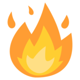 Fire on EmojiOne 2.2.4