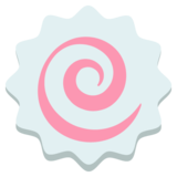 Fish Cake With Swirl on EmojiOne 2.2.4