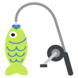 Fishing Pole on EmojiOne 2.2.4