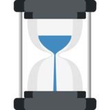 Hourglass With Flowing Sand on EmojiOne 2.2.4