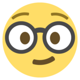 Nerd Face on EmojiOne 2.2.4