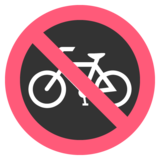 No Bicycles on EmojiOne 2.2.4