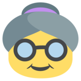 Old Woman on EmojiOne 2.2.4