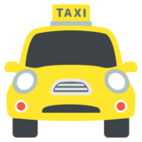 Oncoming Taxi on EmojiOne 2.2.4