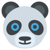 Panda Face on EmojiOne 2.2.4