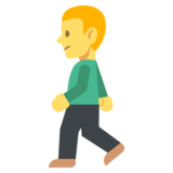 Person Walking on EmojiOne 2.2.4