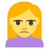 Person Frowning on EmojiOne 2.2.4