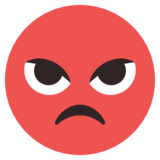 Pouting Face on EmojiOne 2.2.4