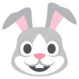 Rabbit Face on EmojiOne 2.2.4