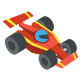 Racing Car on EmojiOne 2.2.4