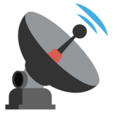 Satellite Antenna on EmojiOne 2.2.4