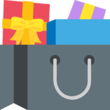 Shopping Bags on EmojiOne 2.2.4