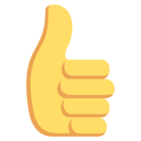 Thumbs Up on EmojiOne 2.2.4