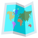 World Map on EmojiOne 2.2.4