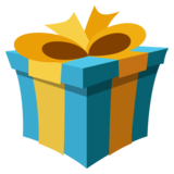 Wrapped Gift on EmojiOne 2.2.4