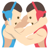 Wrestlers, Type-1-2 on EmojiOne 2.2.4