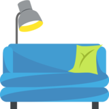Couch and Lamp on EmojiOne 2.2.5