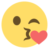 Face Blowing a Kiss on EmojiOne 2.2.5