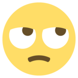 Face With Rolling Eyes on EmojiOne 2.2.5