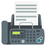 Fax Machine on EmojiOne 2.2.5