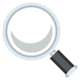 Left-Pointing Magnifying Glass on EmojiOne 2.2.5