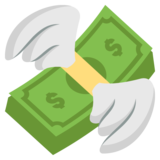Money With Wings on EmojiOne 2.2.5