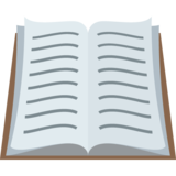 Open Book on EmojiOne 2.2.5