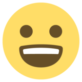 Smiling Face With Open Mouth on EmojiOne 2.2.5